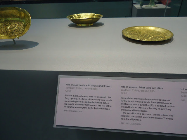 The wealth of Tang China -- gold bowls and saucers