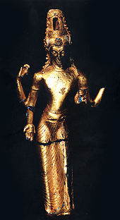Srivijayan statue